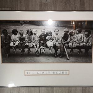 "The Framing Experience Wall Art - ""The Dirty Dozen"" Expert Matted & Framed Art Print"